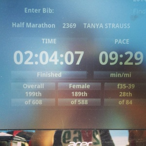 Yo! This is a PR by 8 minutes for me. Super excited about that!