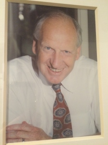 My father, James Edmund Hampton, a few weeks before he died. This photo was taken at a co-worker's wedding in June 1994.